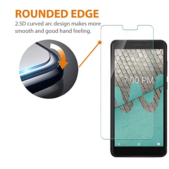 Amazon.com: Protector de pantalla de vidrio templado para ...