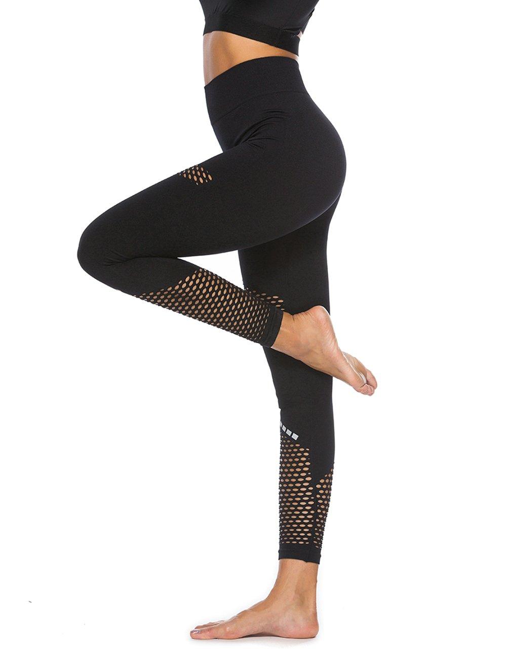 LaLaAreal Mallas Deportivas Mujer Pantalones Pirata Leggins Deportes para  Running Yoga Fitness Gym e48acfcb30951