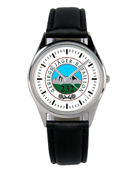 gebjgbtl 232 Cazadores de montaña Regalo Fan Artículo accesorios Fan Artículo Reloj B de 1016: Amazon.es: Relojes