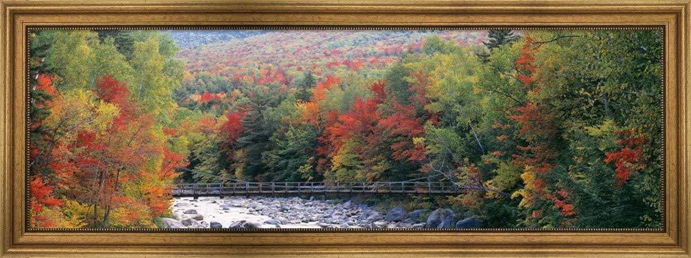 Poster Panorama New Hampshire White Mountains Panoramic Fine Art Print Photo