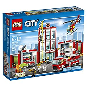 LEGO CITY Fire Station 60110 - 61YVvdrgY0L - LEGO CITY Fire Station 60110