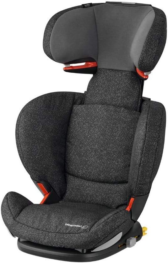 Bébé Confort RODIFIX AirProtect, Silla de auto para niño con ISOFIX, R44/04, reclinable, segura y ligera, desde los 3.5 hasta los 12 años, 15-36 kg, gr. 2/3, Triangle Black (negro)
