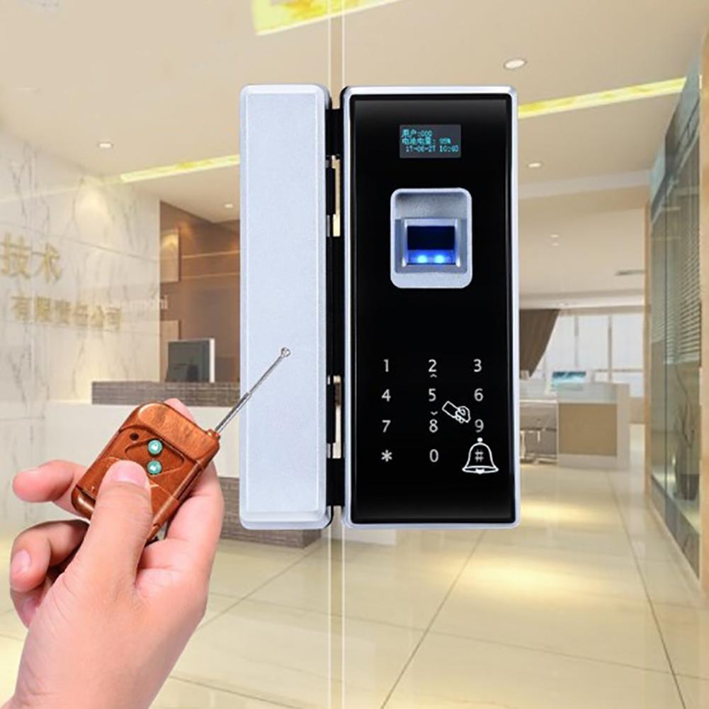 Amazon.com: TDJDYQ - Cerradura de puerta de cristal para ...