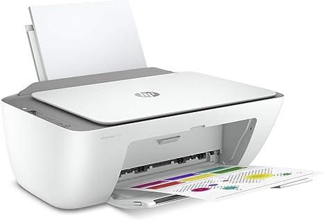 HP DeskJet 2720 - Impresora multifunción, Wi-Fi de doble banda con restablecimiento automático, gris, 425 x 304 x 154: Amazon.es: Informática