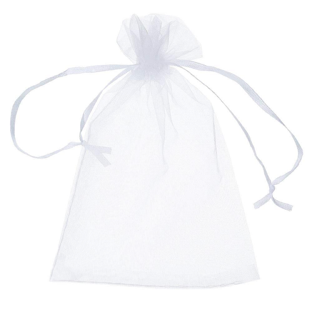 DARK RED MEDIUM ORGANZA Gift BAGS Jewellery Wedding Favour 100 200 500 1000