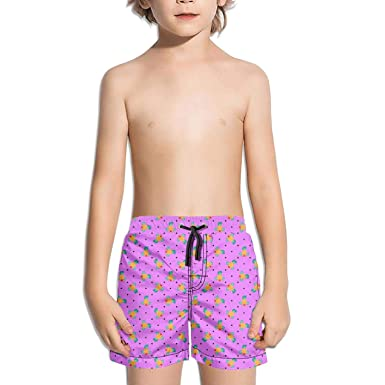 pink shorts with pineapples