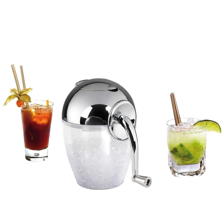 Broyeur /à glace manuel broyeur /à glace Ice Crusher Lames Inox de manivelle de glace Glace Pil/ée, zerhacker, Mixeur, 1,2/l, blanc