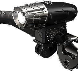 Luz Delantera de LEDs para Bicicleta Resistente al Agua con 4 Modos de Uso Batería Recargable hasta 10 hrs de Duración. Compatibilidad Universal.