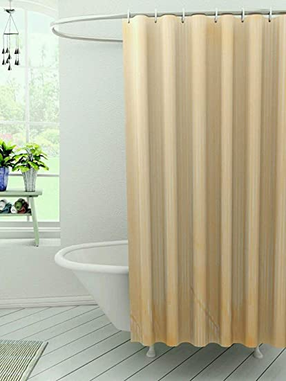 7 foot shower curtain. Kuber Industries  Self Design Soft PVC Premium Shower Curtain 7 Feet 84