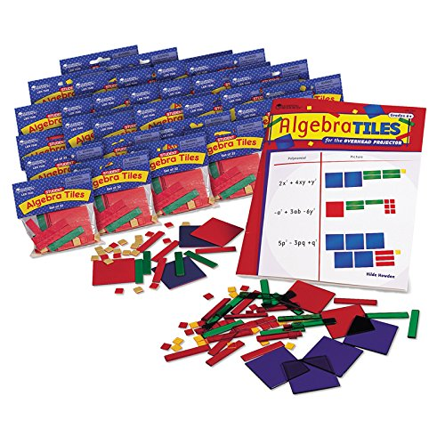 - Learning Resources ALGEBRA TILES CLASSROOM 30-SET