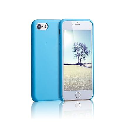 Amazon.com: Apple iPhone 7/8 funda, acabado de silicona, PC ...