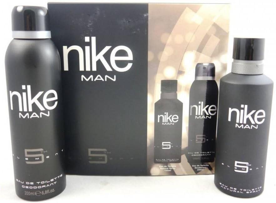 NIKE 5th Element, Set para Hombre con Eau de Toilette 150ml y Deospray 200 ml