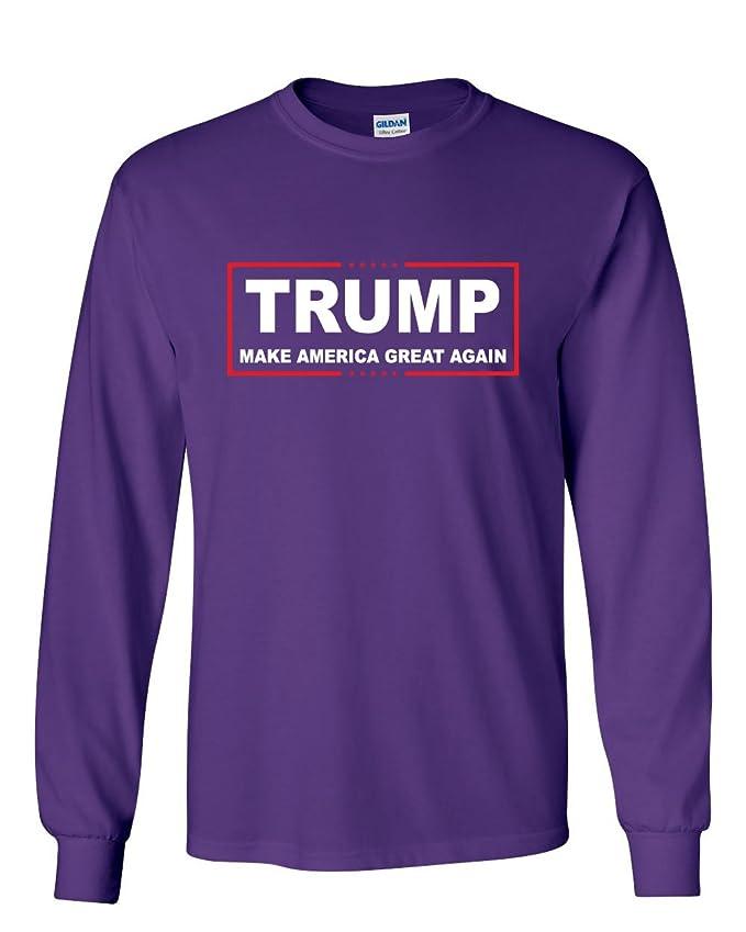trump long sleeve t shirt make america great again amazoncom