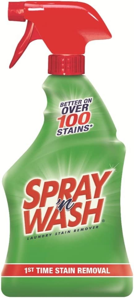 Spray 'n Wash Pre-Treat Laundry Stain Remover, 22 fl oz Bottle (Pack of 4)