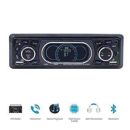 original belle et charmante couleurs harmonieuses Surenhap Autoradio Bluetooth Stereo Radio pour Voiture avec ...