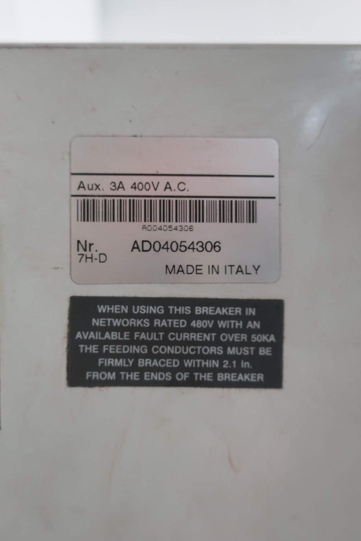ABB S7H-D SACE S7 Molded CASE Circuit Breaker 3P 1200A 600V-AC 600V-DC
