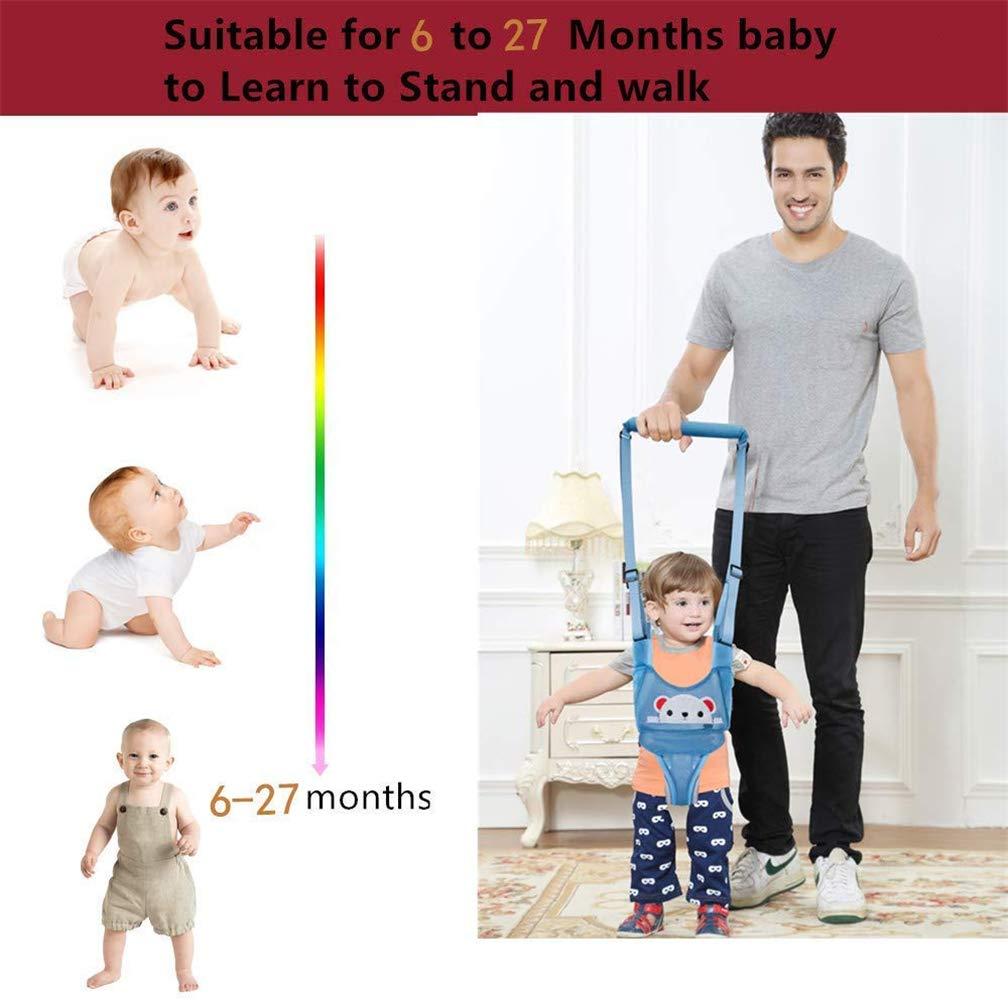 14 meses 6 para actividades infantiles rosa Pink pig doble uso para tirar y levantar Arn/és de seguridad ajustable y transpirable para caminar en el beb/é