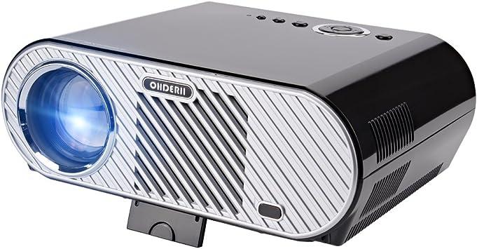 Amazon.com: Proyector Ohderii, multimedia, para cine en casa ...