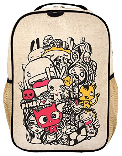 Rolling Friends Backpack (SOYOUNG Backpack Pishi And Friends Toddler, 1 Each)