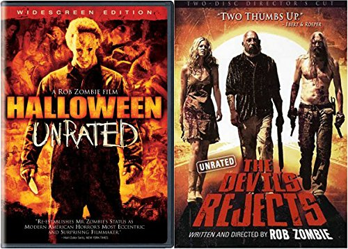 The Devil's Rejects & Halloween Rob Zombie DVD Double Feature (Jamie Lee Curtis In Halloween)
