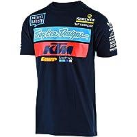 Troy Lee Designs 2019 KTM Playera del Equipo, Marino, Large