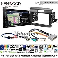 Volunteer Audio Kenwood Excelon DNX694S Double Din Radio Install Kit with GPS Navigation System Android Auto Apple CarPlay Fits 1990-1997 Honda Accord, 1990-2001 Acura Integra