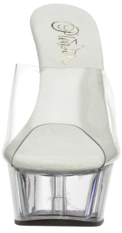 Pleaser DELIGHT-601 Damen Sandalen Sandalen Damen Transparent (Clr/Clr) 5e2143