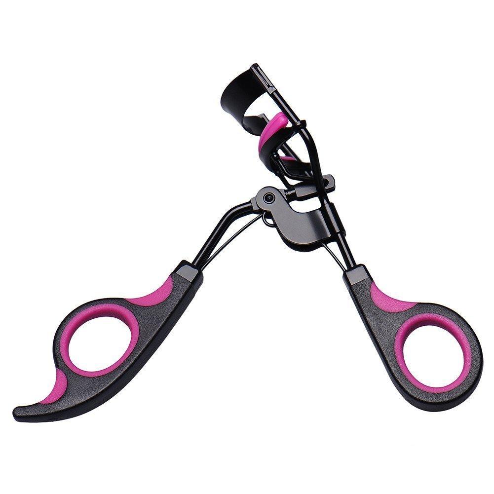 Profesional Mango rizador de pestañas rizos Clip de maquillaje up de Tool: Amazon.es: Belleza