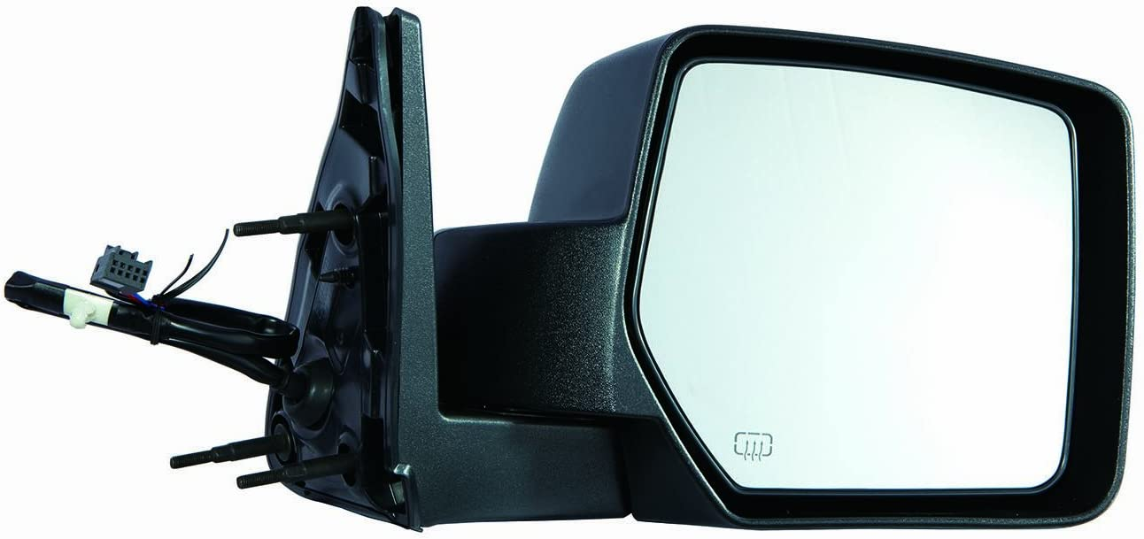 Depo 334-5420R3EF Dodge Nitro Passenger Side Textured Non-Heated Power Mirror