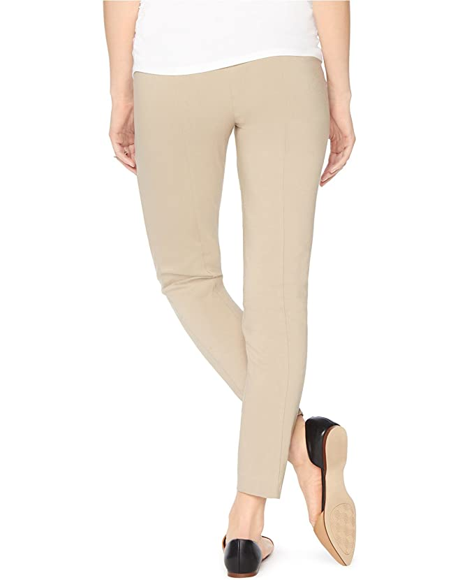 2b366bfe8c3f6 Belly Bliss Maternity Khaki Petite Ankle Jeans at Amazon Women's Clothing  store: