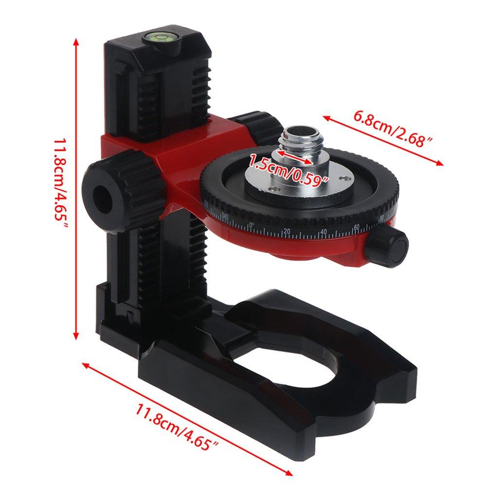 Hukai Level Bracket 5/8'' 360° Fine Super Magnet Pulls L-Bracket Leveling Support by Hukai (Image #7)