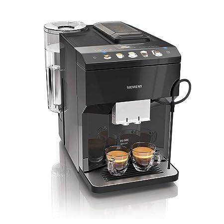 Siemens TP503R09 Cafetera espresso superautomática, EQ.500, Negro, 1500 W, 1.7 litros, Plástico
