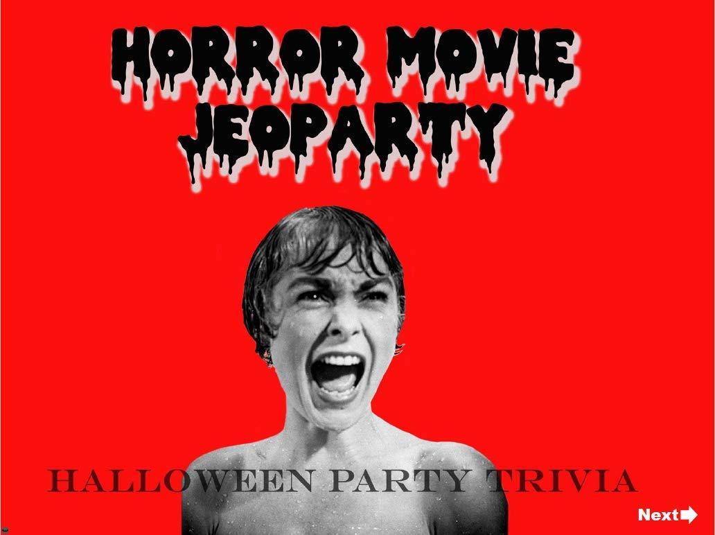 Amazon com: Halloween Horror Movie Jeopardy Trivia Game Digital