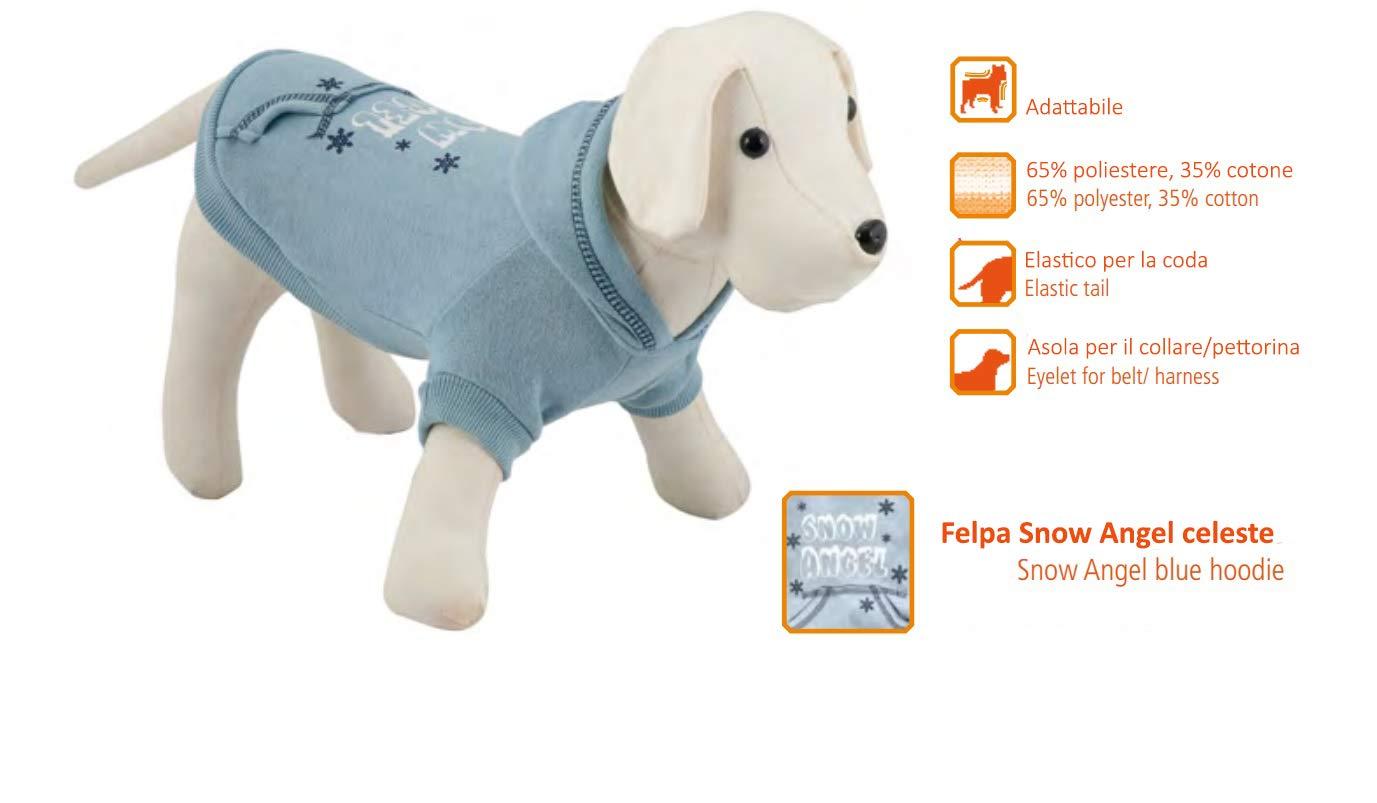 Nayeco Snow Angel Celeste - Sudadera para Perro, Talla 45 cm ...