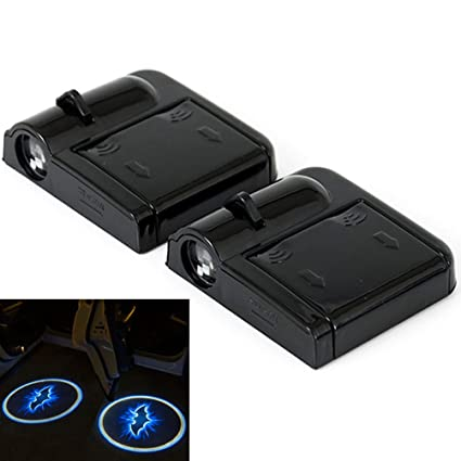 2pcs inalámbrico coche Logo de bienvenida proyector láser LED para ...