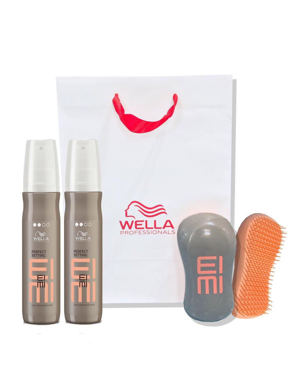 Wella Professionals Eimi Perfect Setting Setting Blow Dry Lotion Gift Set Wella Eimi