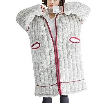 OLLIUGE Pijamas para Mujer Albornoz De Lujo para Mujer a4236b797581