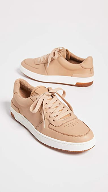 48d7d46a26b5a Amazon.com: Vince Women's Rendel Sneakers, Sand, Tan, 8.5 M US: Shoes