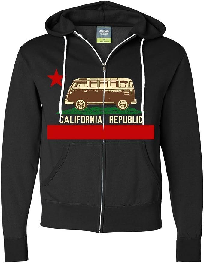 California Republic Vintage Van Zip Up Hoodie