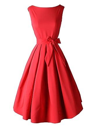 Red Vintage Dress_Other dresses_dressesss