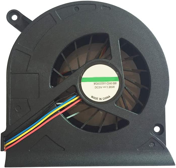Compatible for Dell Inspiron All in One (AIO) 2310 2305 2205 CPU Cooling Fan P/N: 0636V MG80200V1-C040-S99 4-pin