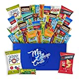 My College Crate Ultimate Healthy Snack Care Package for College Students – Variety Assortment of Healthy Snacks (40 Snacks) – The Healthy College Survival Kit Review