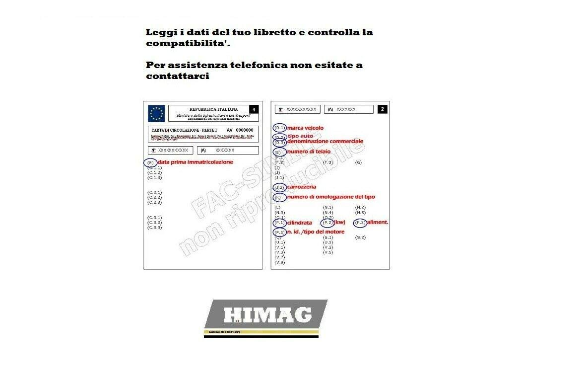 Dischi Solidi Pastiglie Freno Anteriori Micra II K11 1.0 1.2 1.4 16v