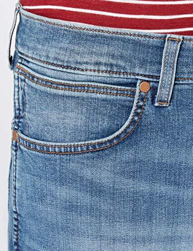 Hombre Wrangler 87m Jeans Azul Up fired Para Spencer qHrTxwHt