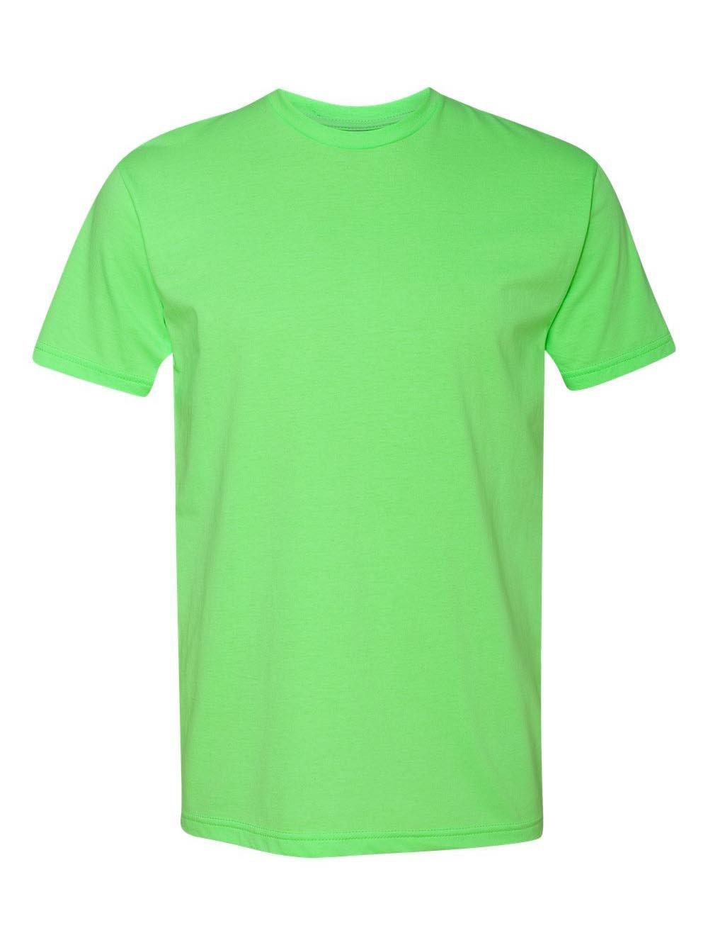 Next Level Apparel メンズ CVC クルーネック ジャージ Tシャツ B07D2KX4R2 Small|ネオングリーン ネオングリーン Small