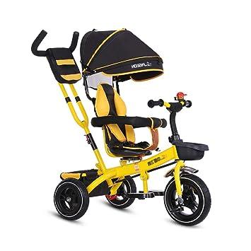 Triciclos Triciclo De Bebé, Cochecito De Dirección 4 En 1 ...