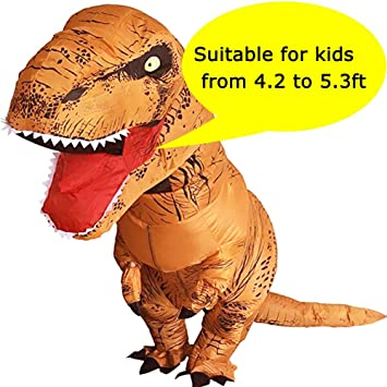 VAMEI T-Rex Disfraz para niños Disfraz de Dinosaurio Traje ...