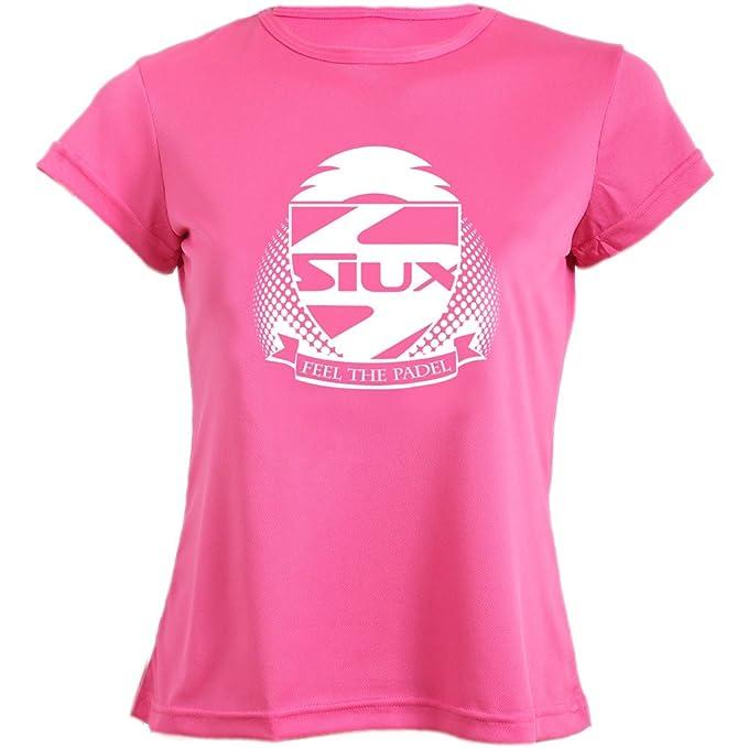 Siux Camiseta Mujer Entrenamiento Fucsia: Amazon.es ...