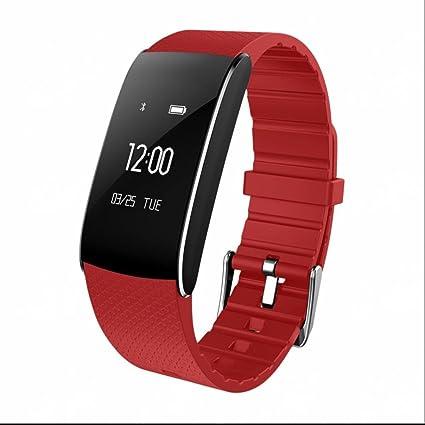 Pulsera Inteligente Bluetooth Digital Suivi de fitness Reloj inteligente Deportivo Monitor de Pulso Cardiaco/Presión