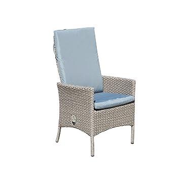 greemotion Lot de 2 fauteuils de jardin résine tressée Malmö ...